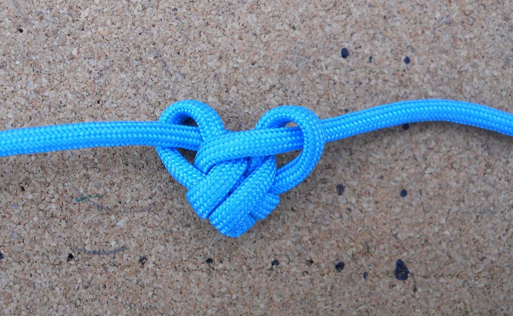 Single (para)Cord Heart Pendant