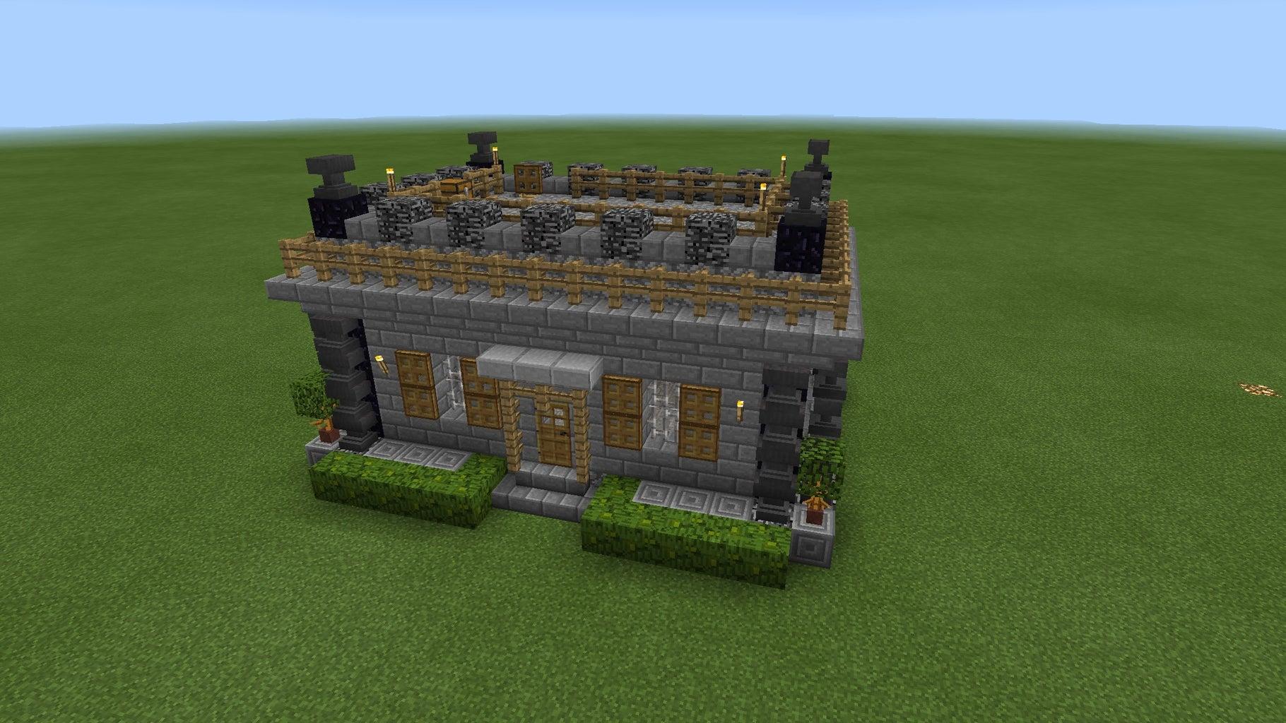 Minecraft PE Medieval House