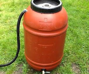 Rainwater Harvesting: Rain Barrel DIY