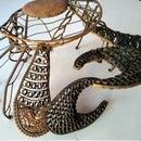 Steel Crab Sculpture