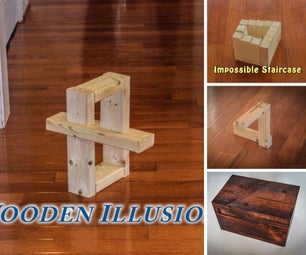 Wooden Illusions and Puzzles