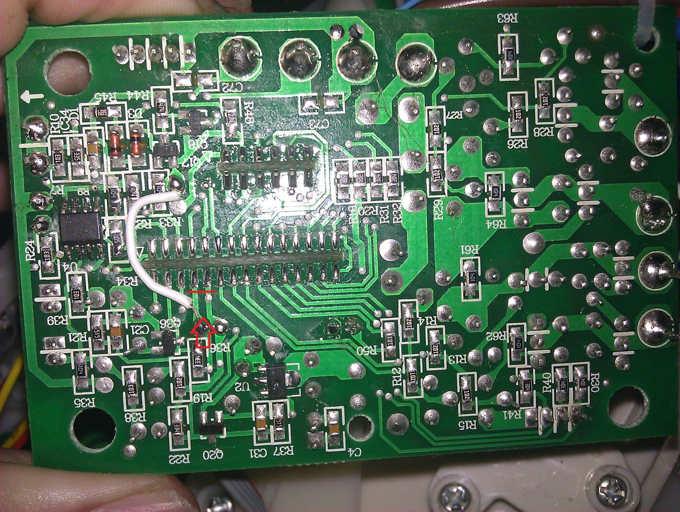 Cutting the Power to the Microcontroler
