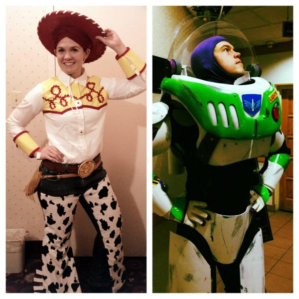 Buzz Lightyear and Jessie the Cowgirl