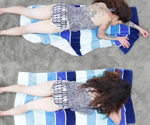 Weighted Beach Towel Mod