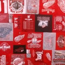 Red Wing T-shirt Quilt