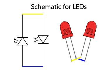 Glue the LEDs Together