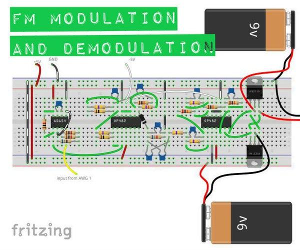 FM Modulation/de-modulation Circuit