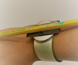 The Bracelet That Holds Your Pencil