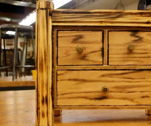 Hidden Rotary-Post Jewelry Box (With Three Secret Compartments)