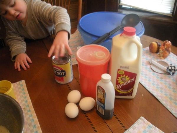 Doug's Snow IceCream  or (how to Make Ice Cream From Snow)