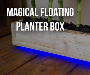 Magical Floating Planter Box