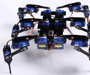 Hexapod4 Spider Robot Instruction Manual