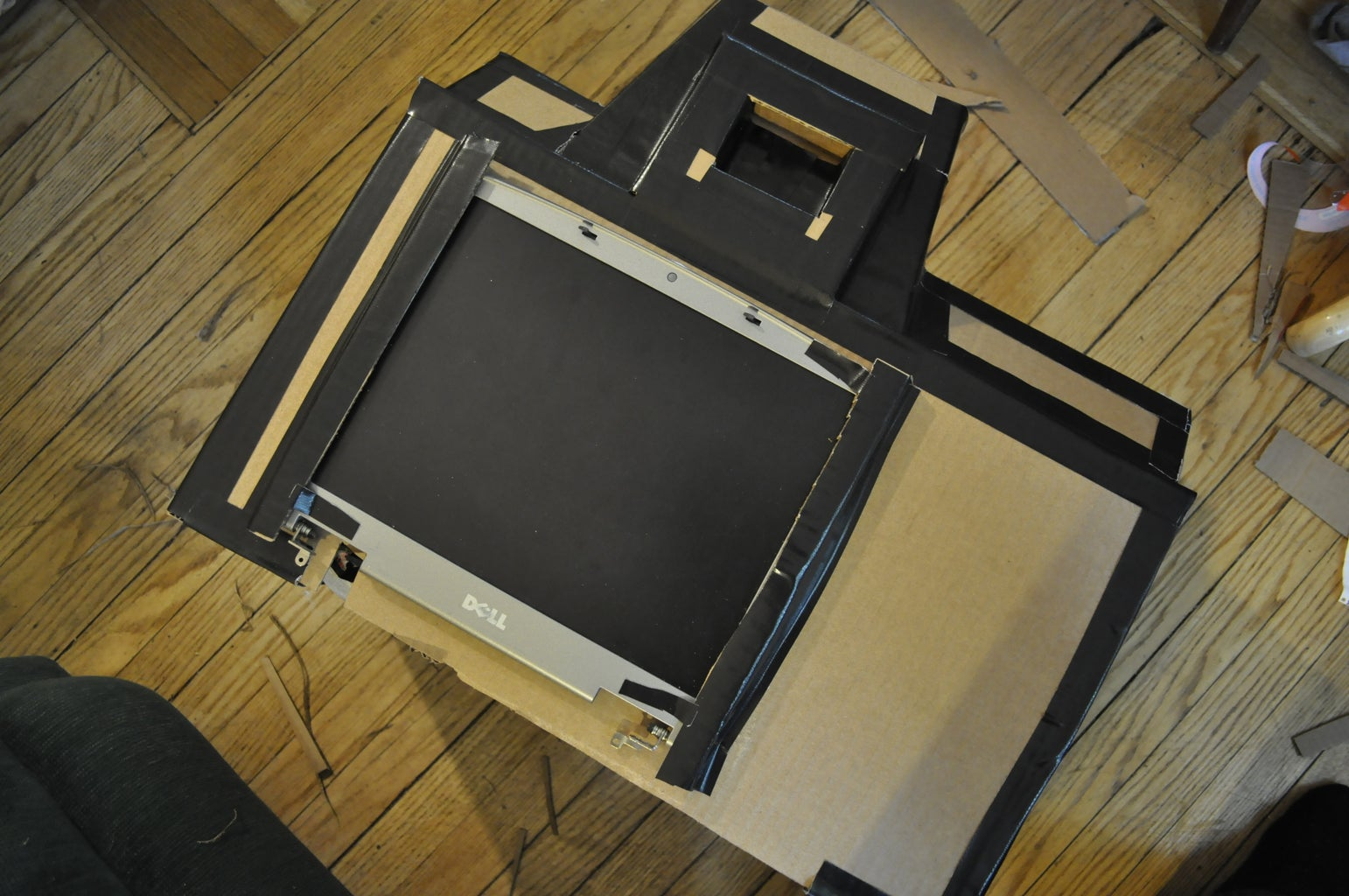 Mount the LCD Display