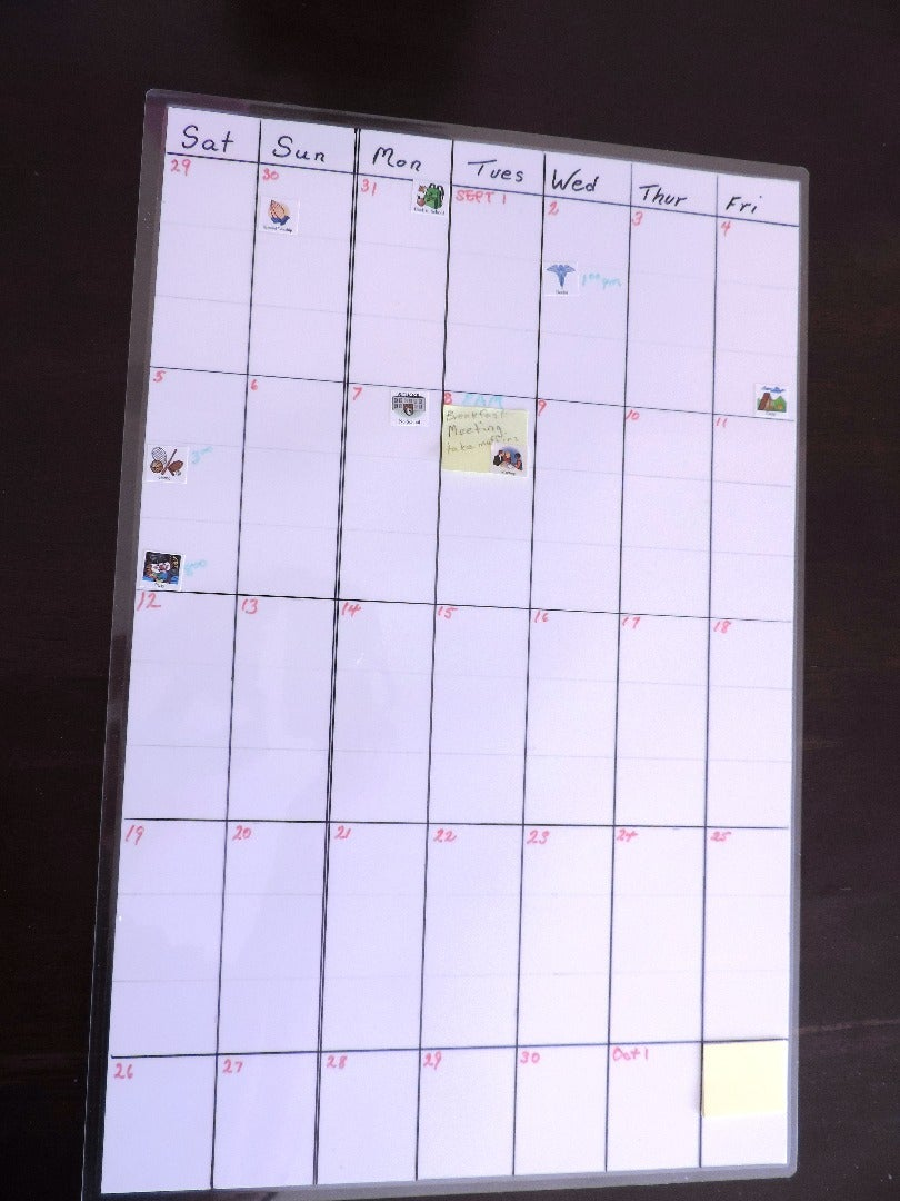 Make Your Own Whiteboard and Custom Calendar