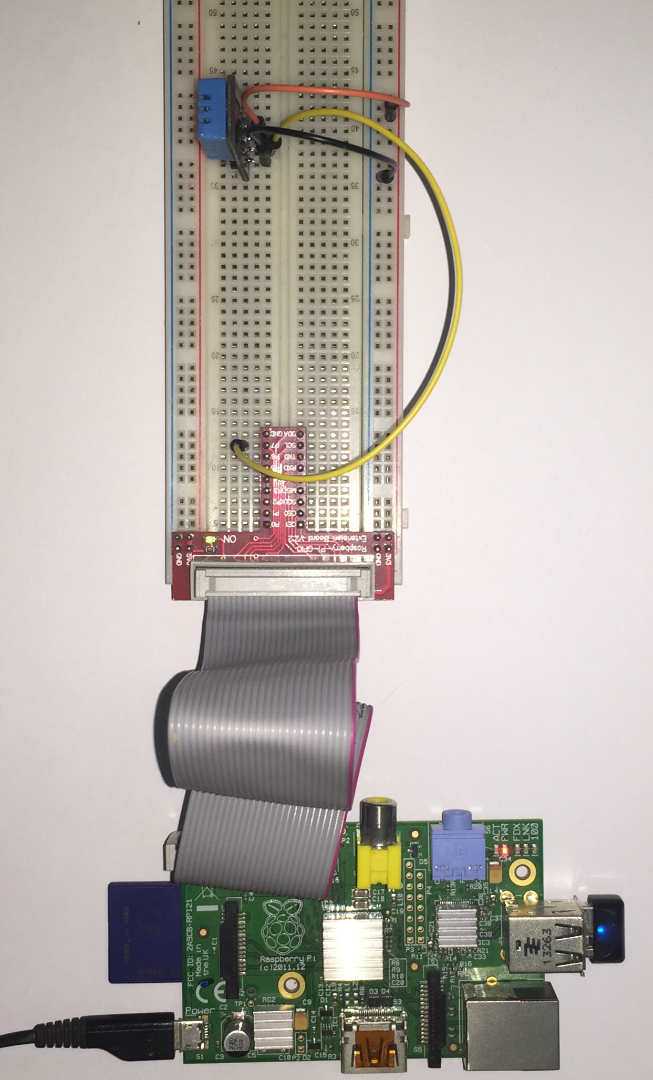 Home (Room) Temprature and Humidity Monitor With Web Based Chart - Raspberry Pi