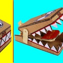 Make Simple Mouse Traps Toys From Cardboard