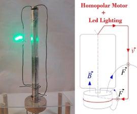 Homopolar Led Lighting