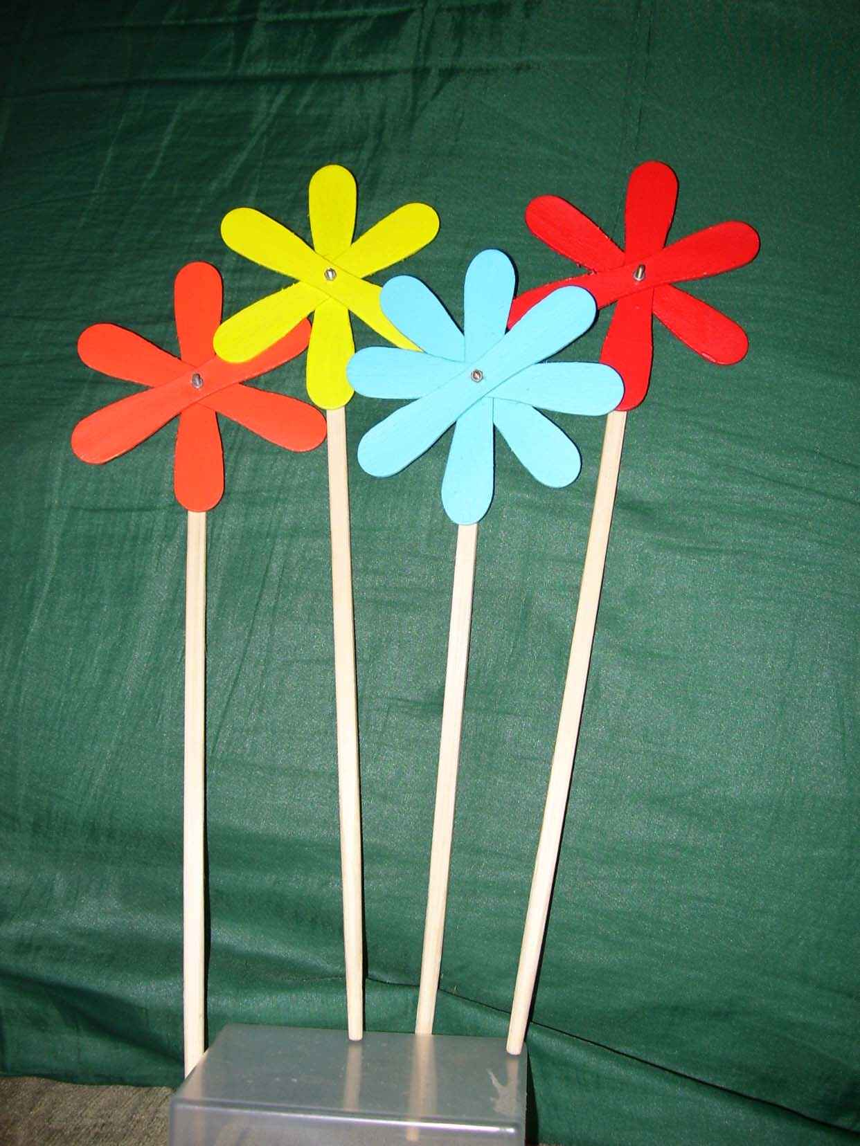 Lollychop Flower - Recycl'Art