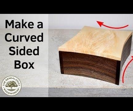 Curved Memento Box