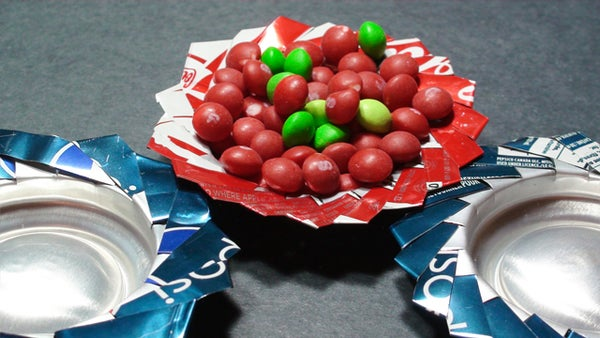How to Make Recycled Pop Can Trays!