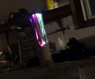 Fiber Optic Concrete Lamp