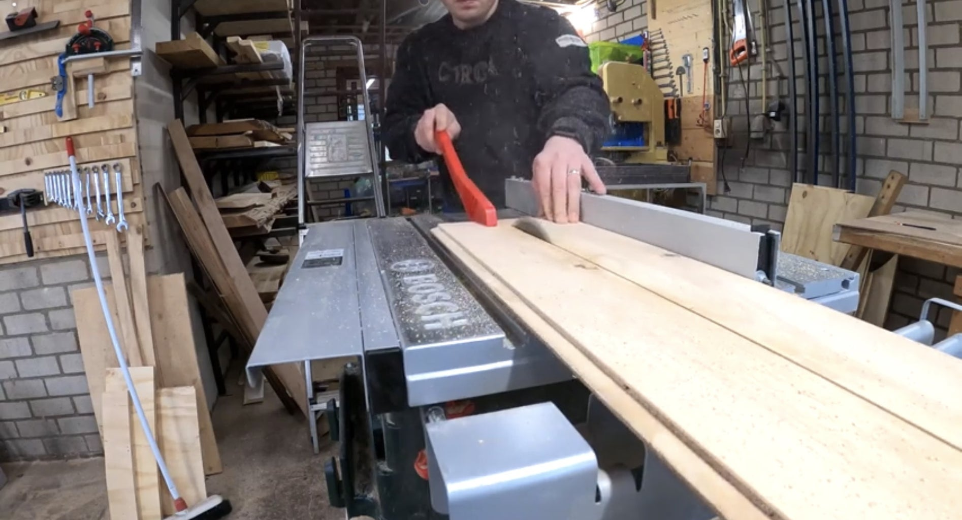 Cut the Plywood to Size