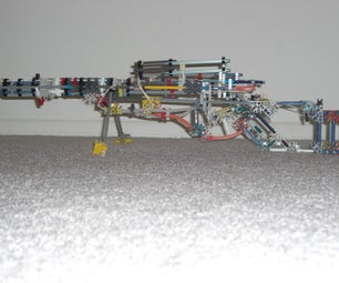 K'nex Sniper Rifle SR-70 Instructions