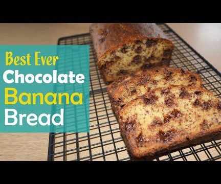 BEST EVER Chocolate Banana Bread Recipe - Easy & Super Moist!