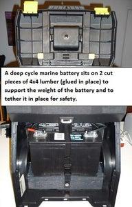 Portable DIY Solar Cart
