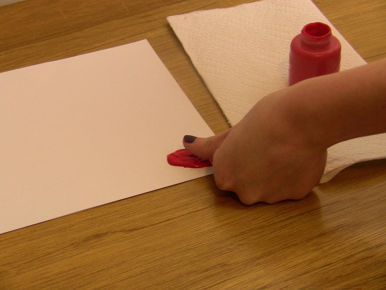Making the Thumb Prints