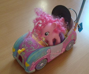 Pinkie Pie RC Car + Bass Cannon
