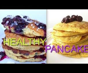Healthy Pancakes 3 Ways