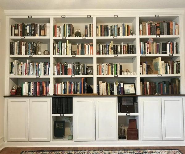 DIY内置书柜