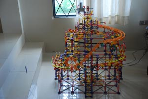 """How to make """"Temple of Demise"""" knex ball machine"""