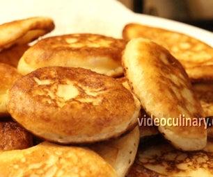Grandma Emma's Russian Pancakes (Oladushki)
