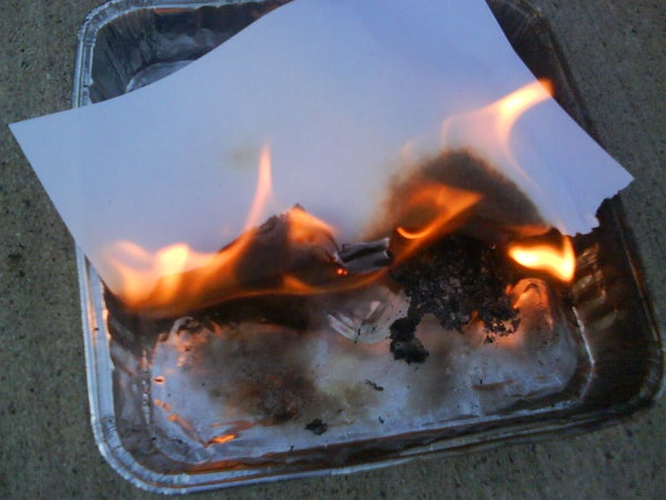 How to Start a Fire With Swedish Firesteel/Flint