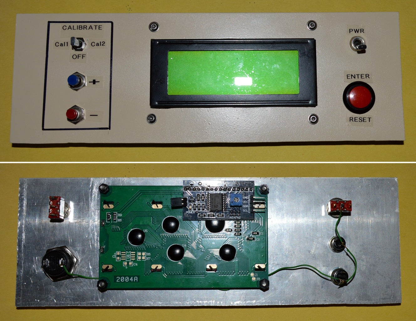 Building the Control Panel
