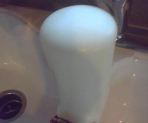 Overflow of Bubbles Toilet Prank