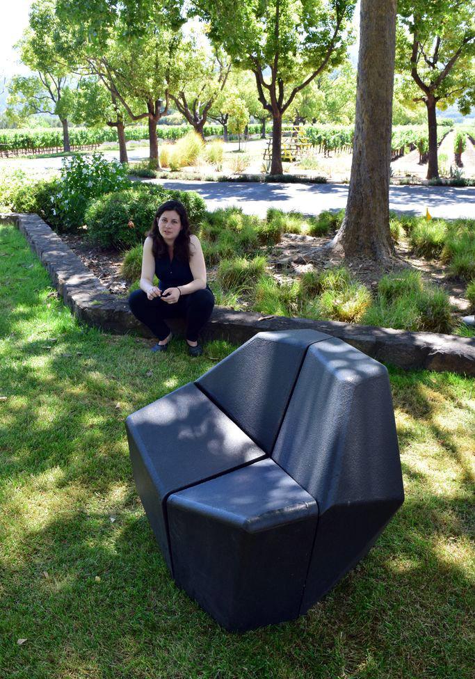 GeoShift Transforming Chair