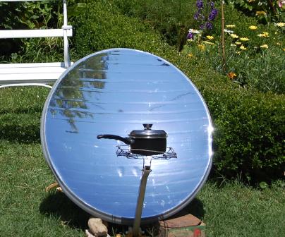 Parabolic cooker