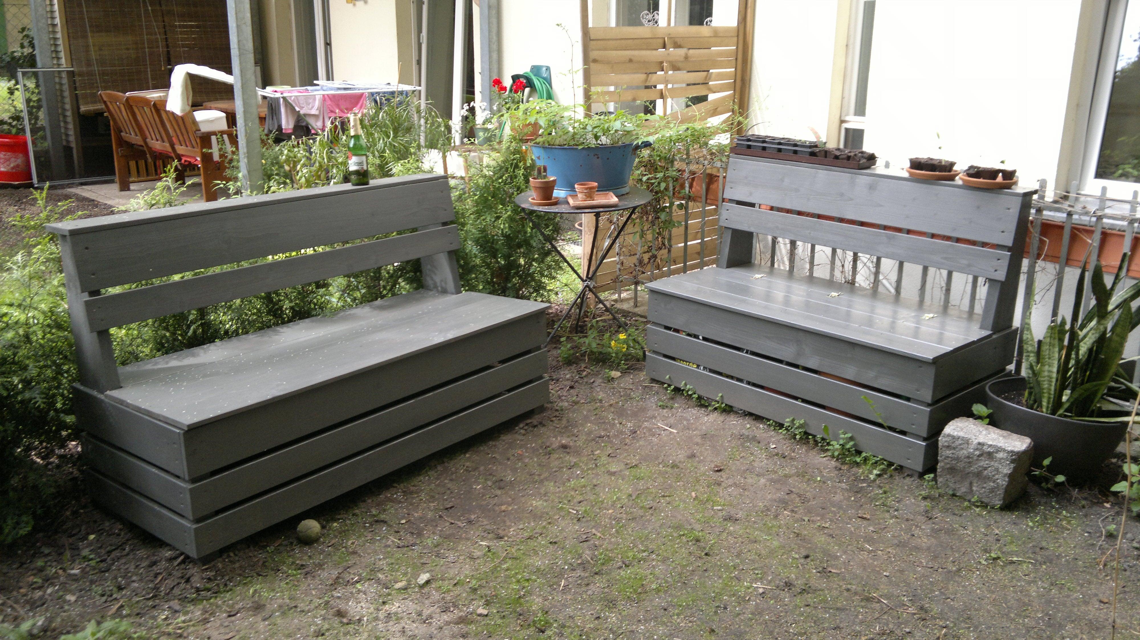 Excellent Easy Garden Storage Bench, Diy Outdoor Seat With Storage