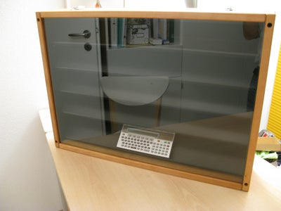 Transforming a Changing Table Into a Display Case
