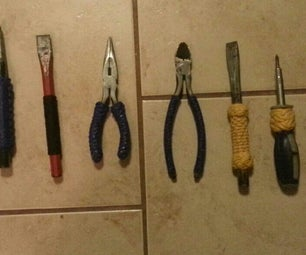 Rope Handles on My Tools