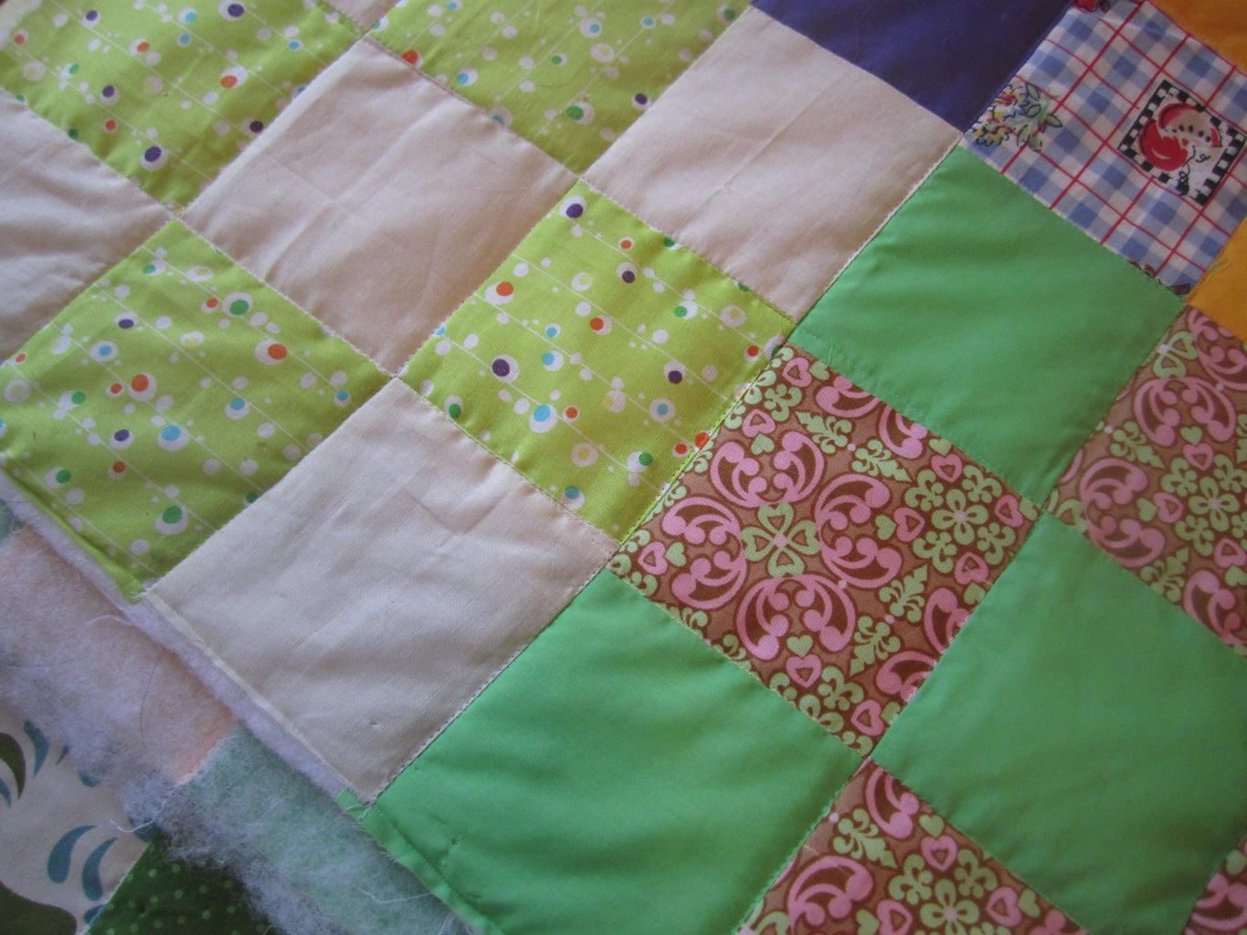 How the Quilt Should Look After Quilting...