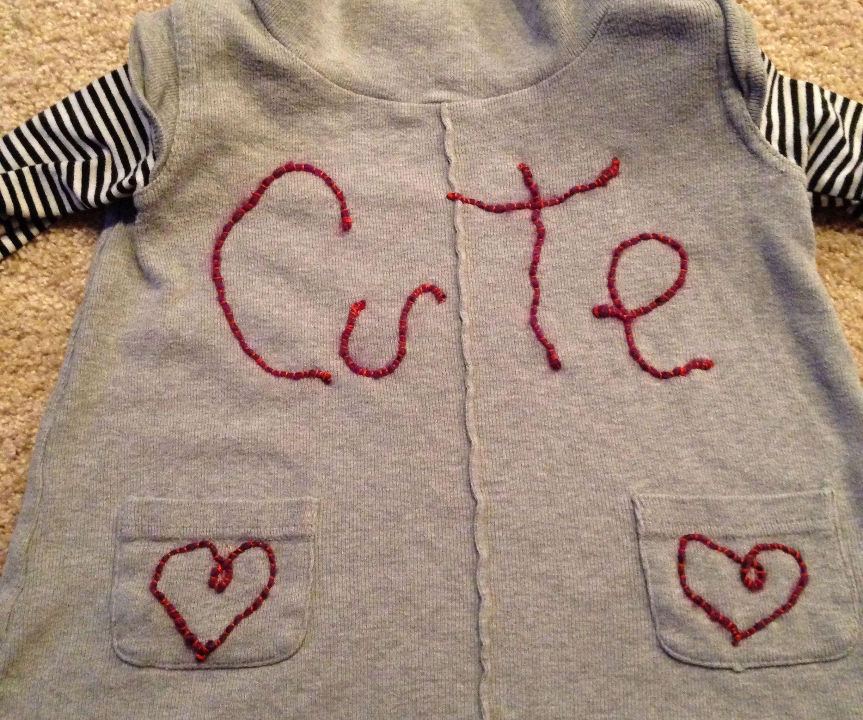 Couching Yarn, Cool Embellishments :)