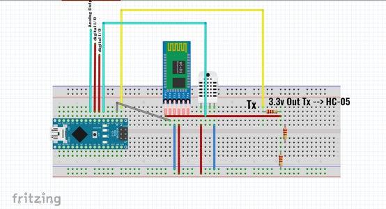 Circuit Diagram & Code