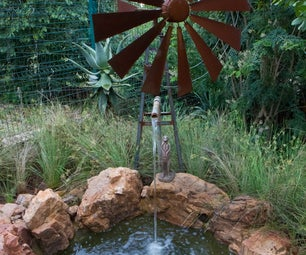 Windmill Water Feature
