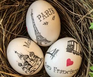 DIY Easter Egg Design Idea and Tutorial