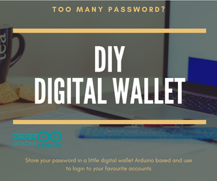 Digital Wallet Arduino Based