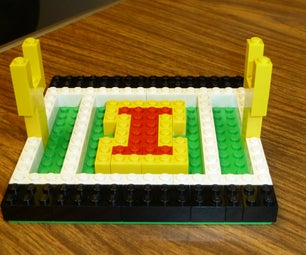 Lego Iowa State Football Field